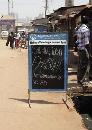 Bergman in Uganda