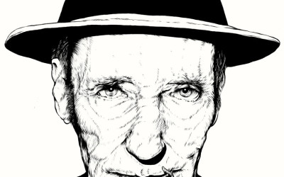 WS Burroughs par Marco Klefisch