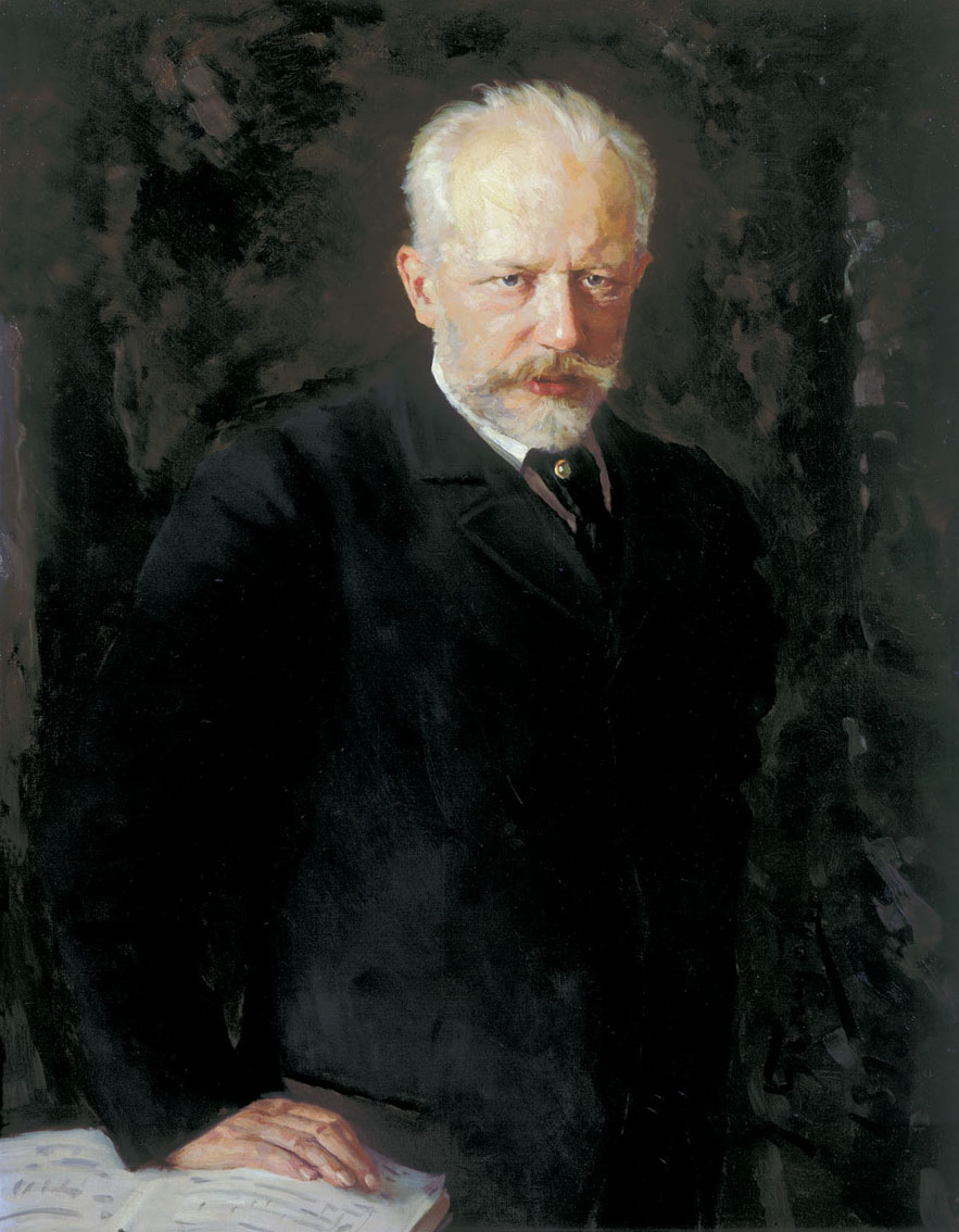 Piotr Ilitch Tchaïkovski, huile sur toile, 1893, Nikolaï Kuznetsov