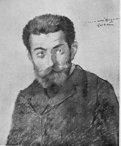Huysmans par Forain 1878