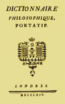 Voltaire Humanité au vitriol