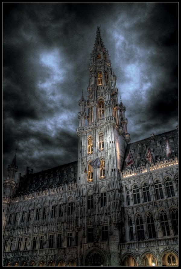 Bruxelles by night by Zardo