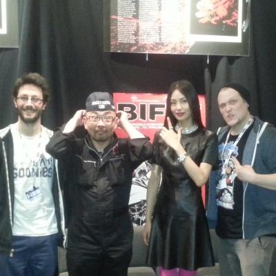 BIFFF 2015 Interview de Nishimura Yoshihiro et Shiina Eihi