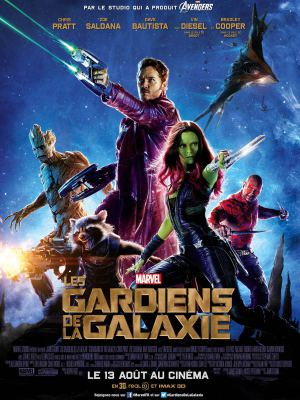 Les Gardiens de la galaxie Movie vs Comics