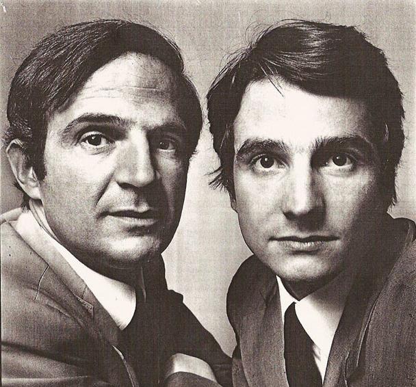 Truffaut & Léaud par Richard Avedon