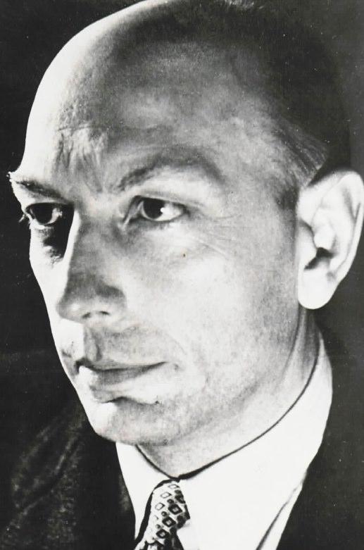 Henri Michaux. Photo © Gisèle Freund.