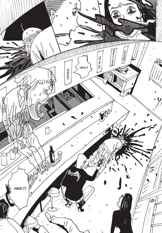 Un extrait du manga Mind game.