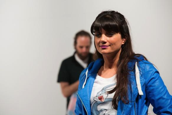 Nargis Benamor (Miranda) et Itsik Elbaz (Oskar).