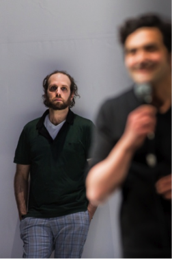 Itsik Elbaz (Oskar) et Laurent Capelluto (Paul).