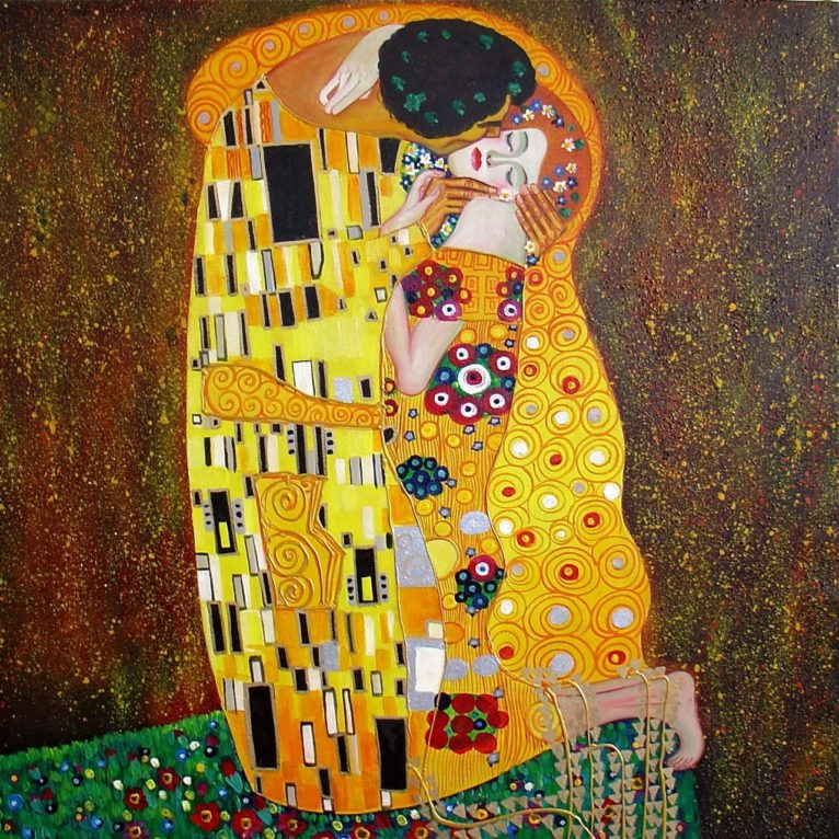 Le baiser de Gustav Klimt, 1909