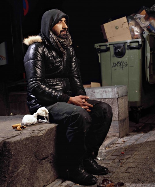 Omar Berradi, Denizens of Brussels, par Andres Serrano, 2015