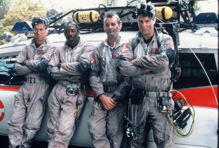 La première team de Gohstbusters.