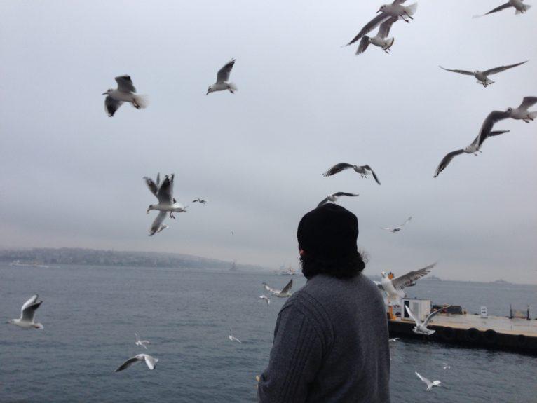"""""""Soif d'espoir"""". Photo prise à Istanbul par Canan."""