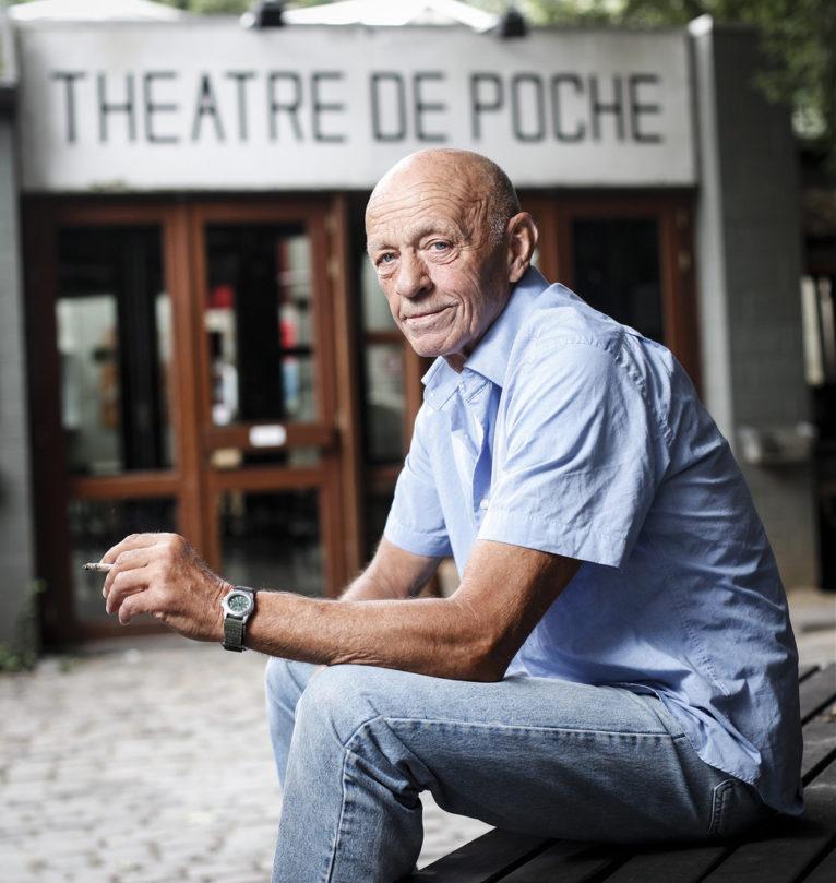 Roland Mahauden, ancien directeur du Poche.