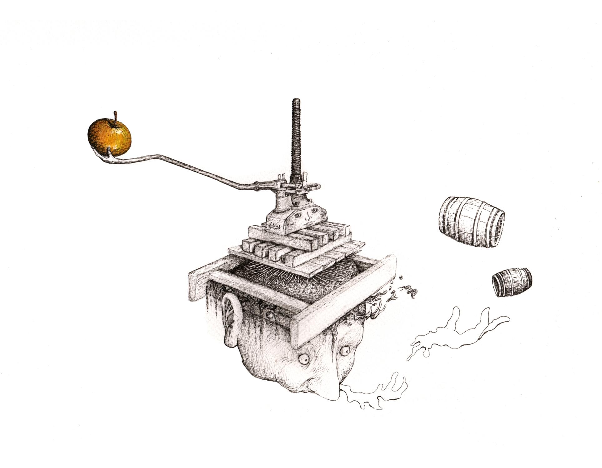 dessin-de-presse-24-x-32-cm-encreaquarelle-sur-papier