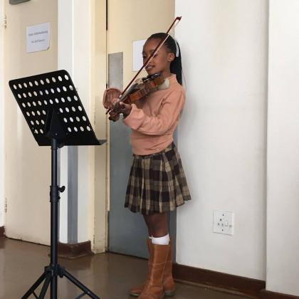 Thandiwe Cattier et le Music Center de Johannesburg