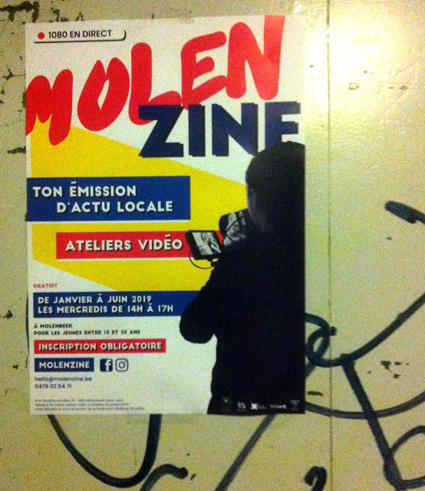 Molenzine l'émission d'actu locale par les jeunes molenbeekois