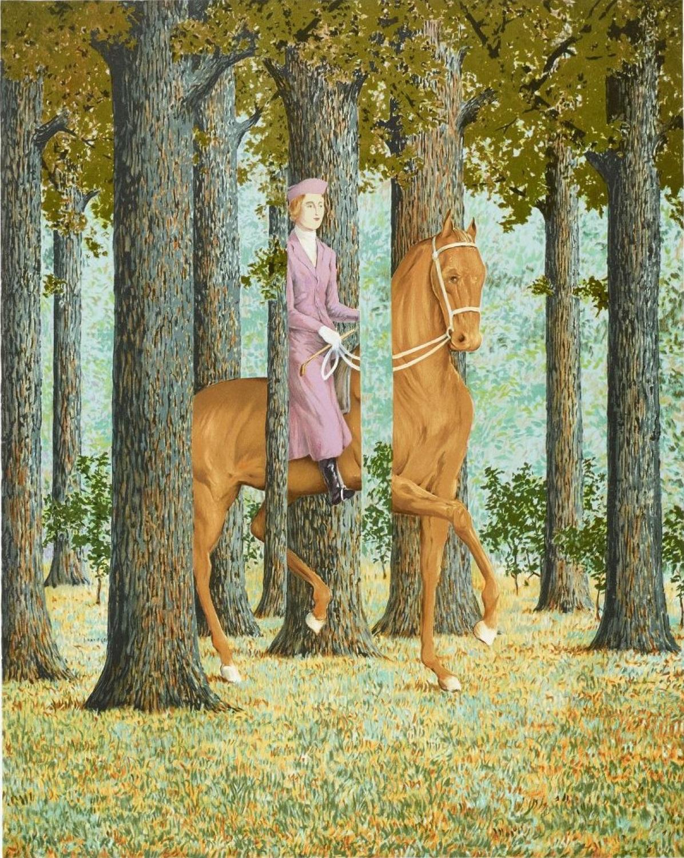Fond d'écran (17) Le blanc-seing de René Magritte