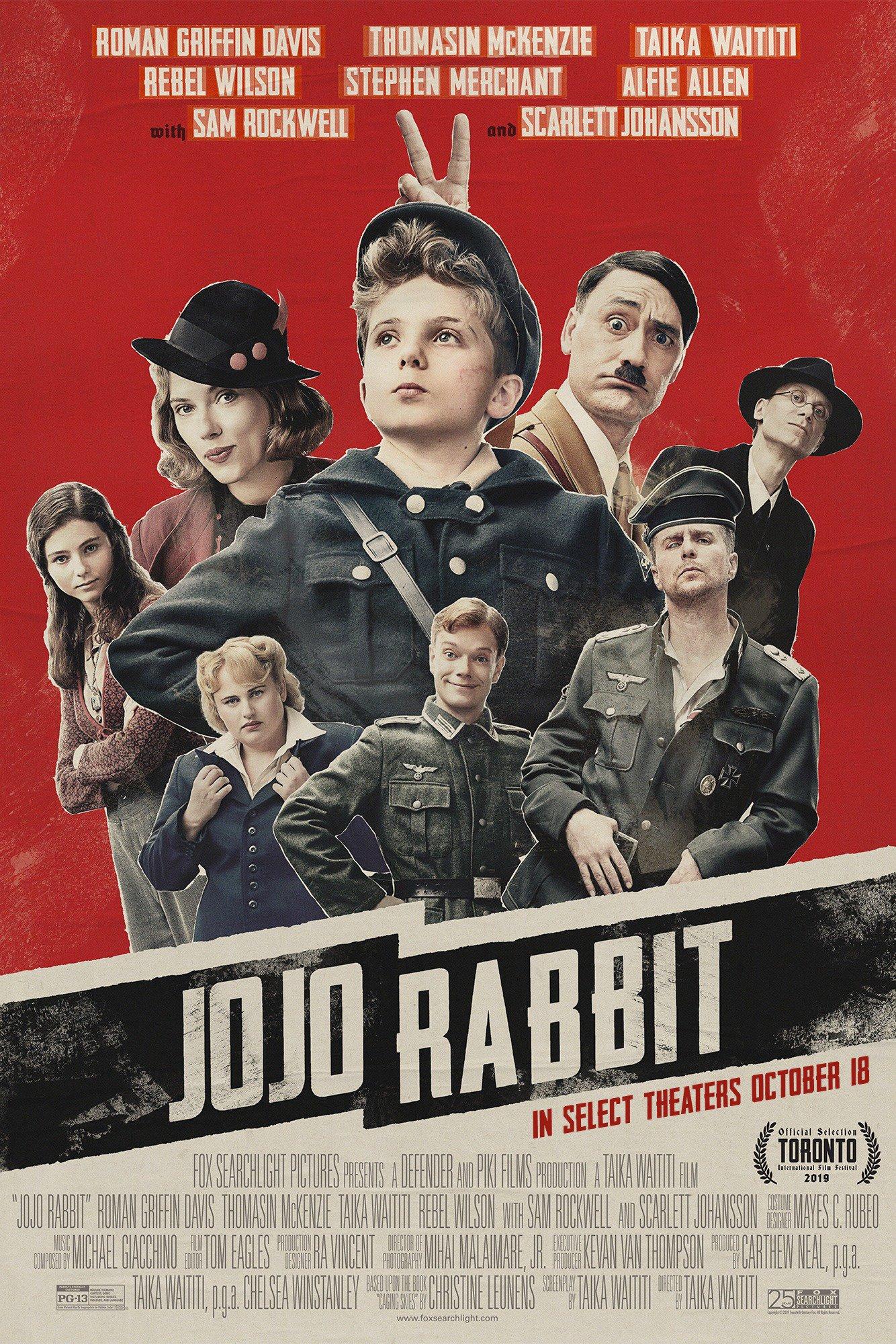 Jojo Rabbit Le plus improbable des amis imaginaires
