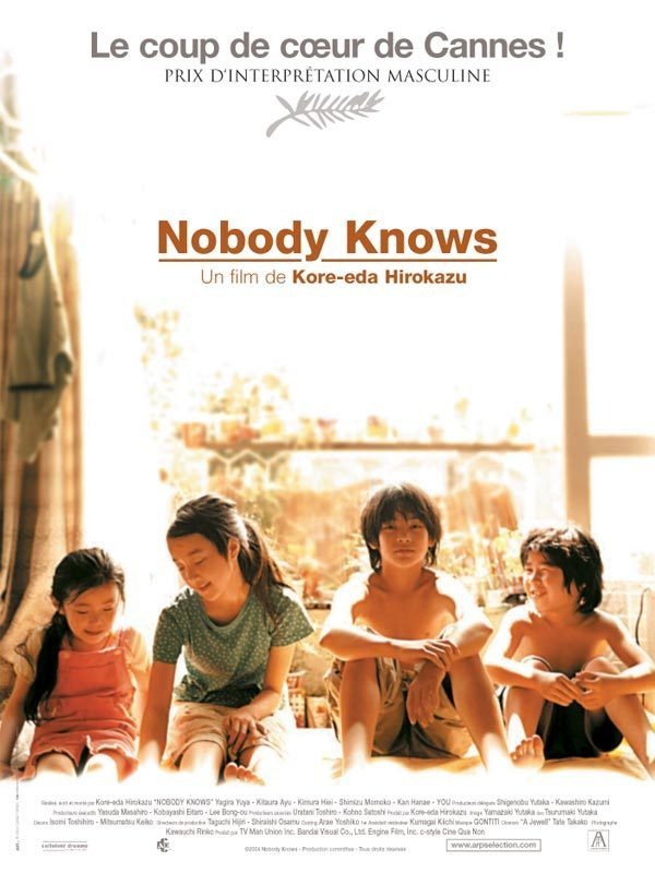 Le cinéma reclus (2) Nobody Knows L'innocence et la grâce des petites mains