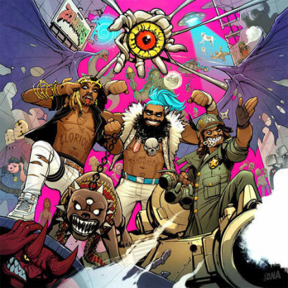 Flatbush Zombies 3001 : A Laced Odyssey