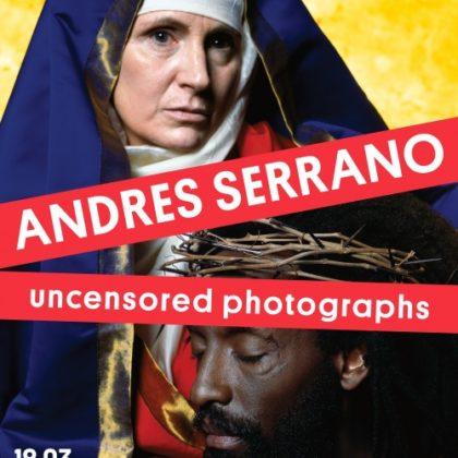 Andres Serrano Uncensored photographs  entre provocation et dévoilement