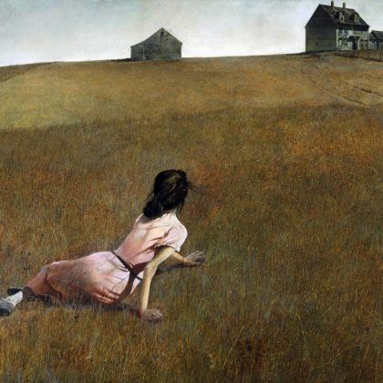 Fond d'écran (14) Christina's World d'Andrew Wyeth