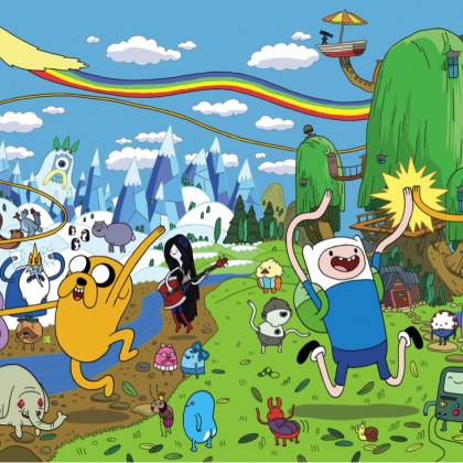 Séries animées # 2 Adventure Time