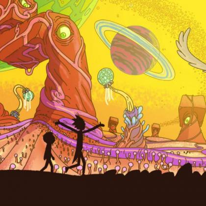 Séries animées # 7 Rick & Morty
