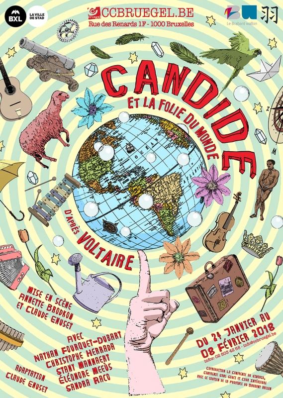 Candide et la folie du monde Artisanal et rafraîchissant