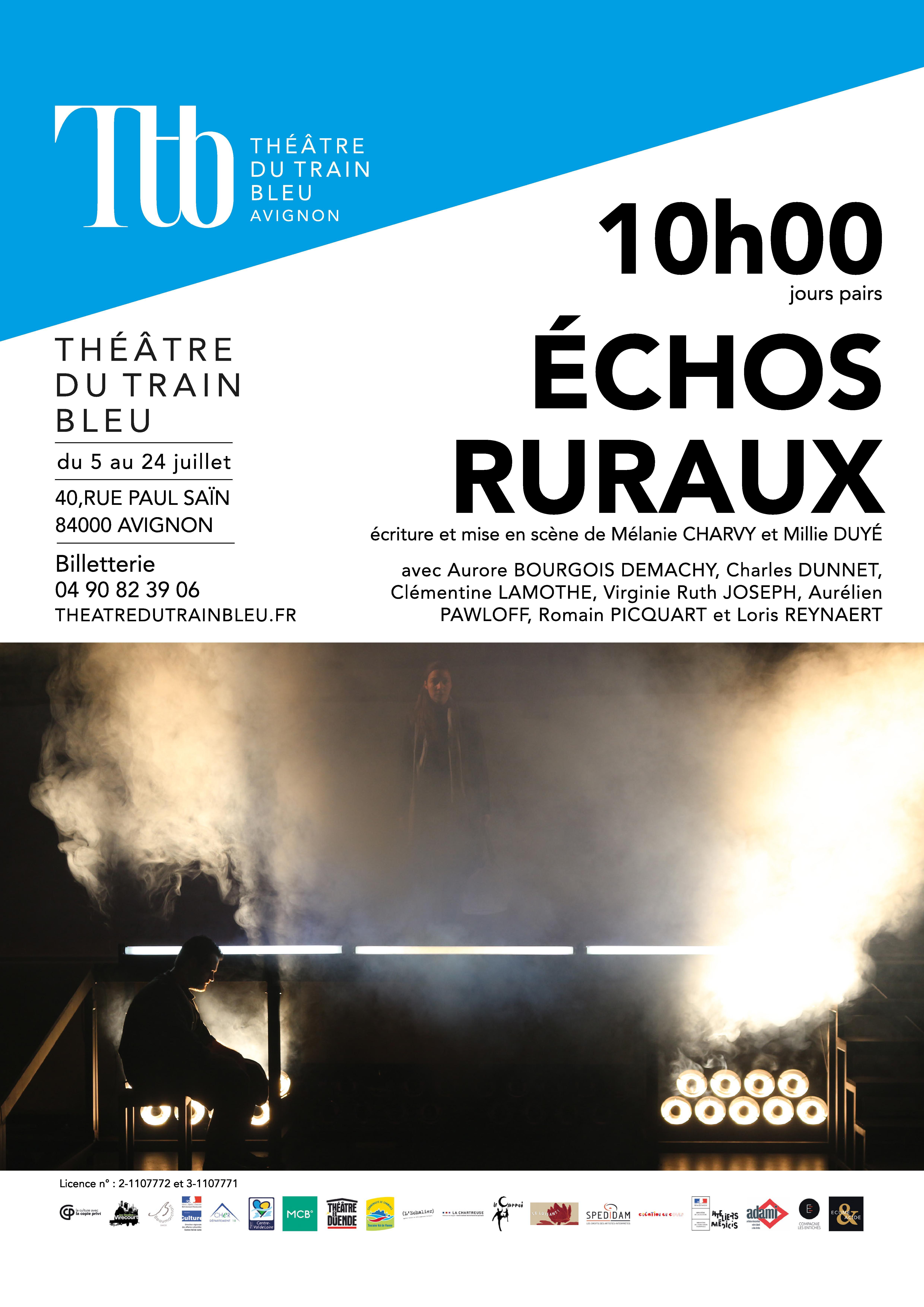 Avignon 2019 Échos ruraux, Grand prix Tournesol rencontre avec Mélanie Charvy