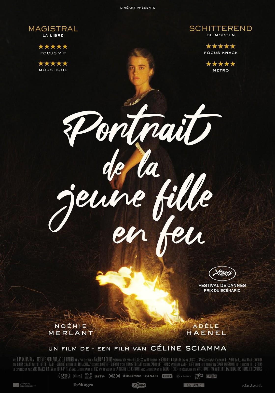 Portrait de la jeune fille en feu Naissance d'une passion