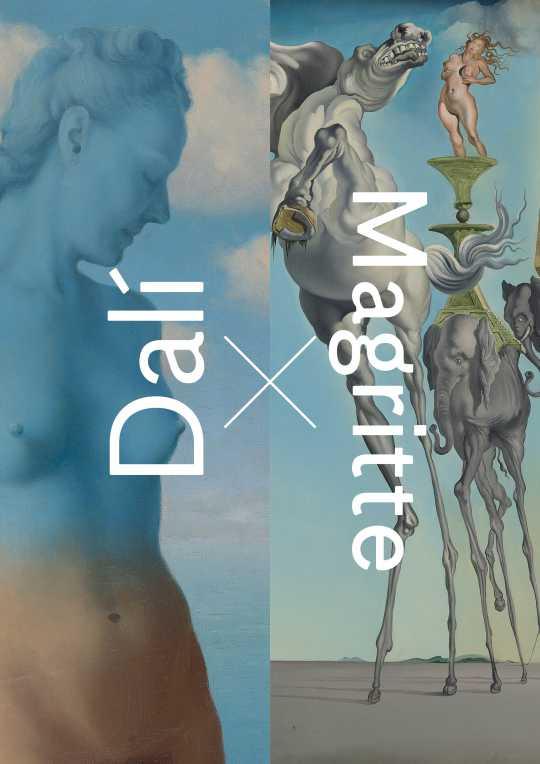 Magritte/Dalí Ou la retrouvaille posthume de deux amis