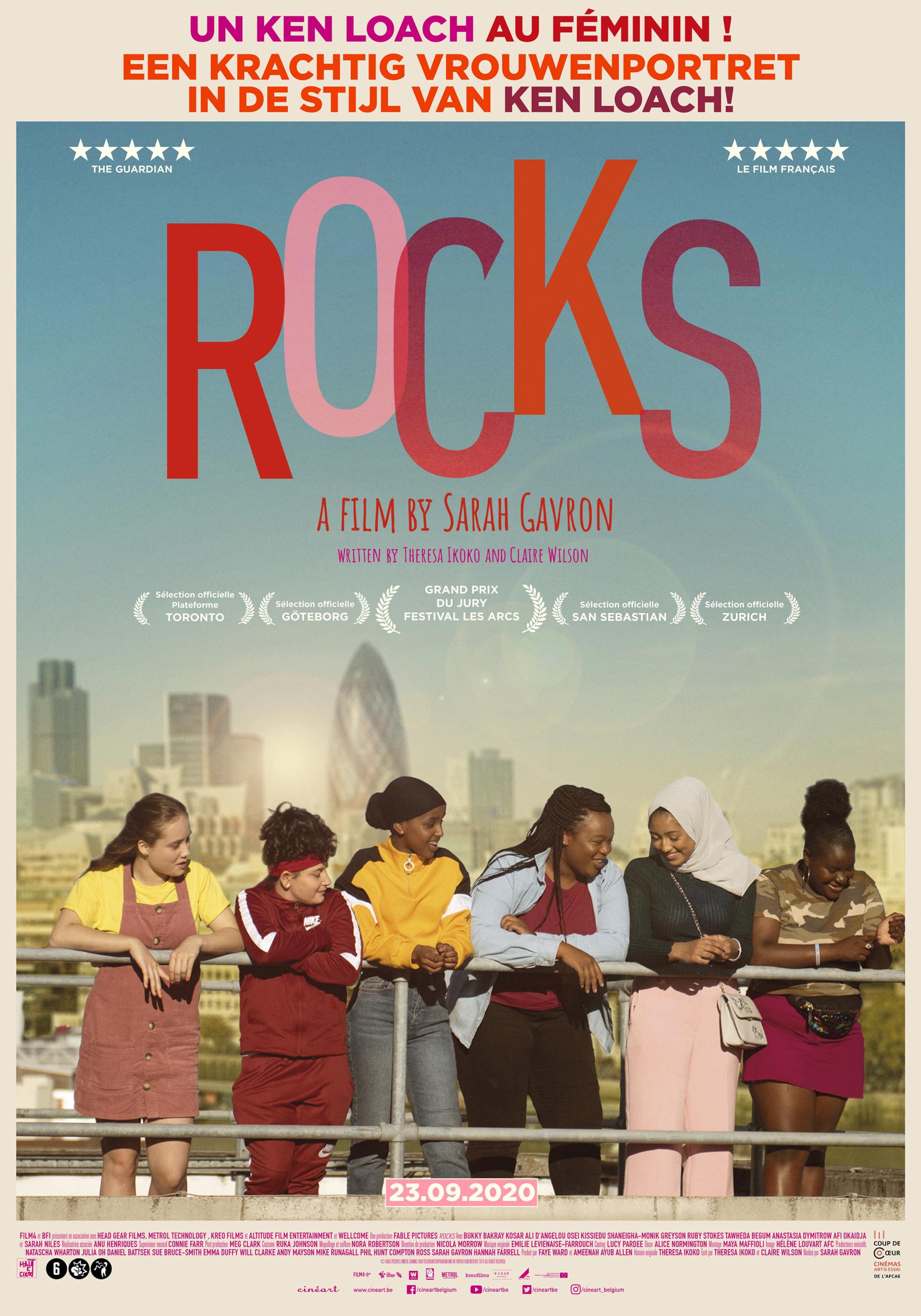 Rocks Amitié, impétuosité, jovialité