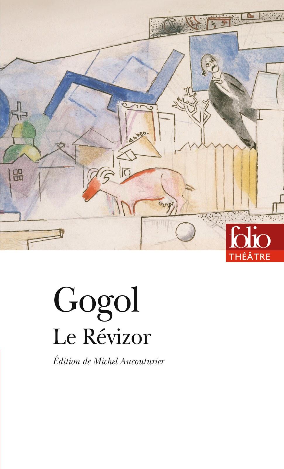 Un livre un extrait (17) Le Révizor de Nicolas Gogol