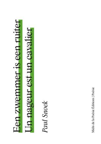 Un livre un extrait (19) Un nageur est un cavalier Un concentré de nuances