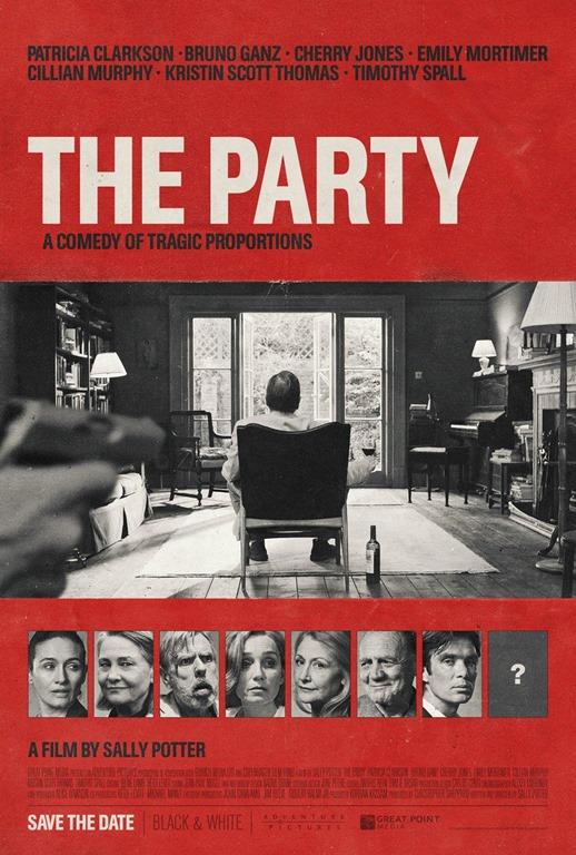 The Party de Sally Potter « J'ai des amis qui sont aussi mes amoureux »